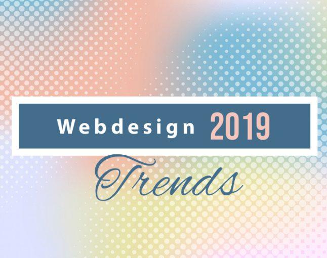 Webdesign-Trends für 2019